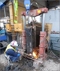 NS油圧ジャッキ工法